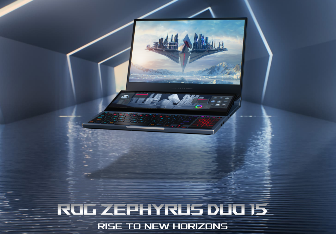 laptop sultan asus ROG zephyrus duo